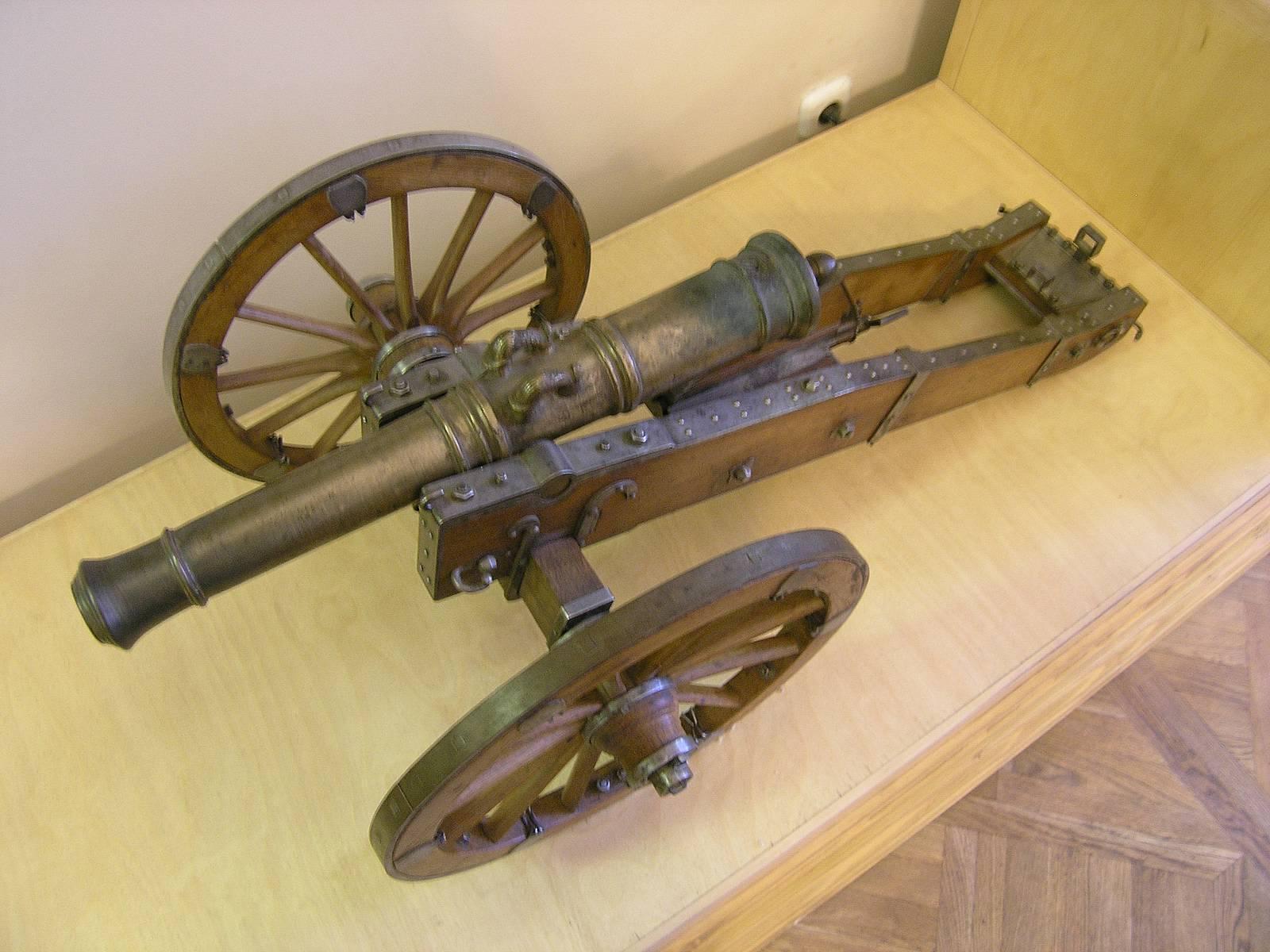 Пушка из металла своими руками